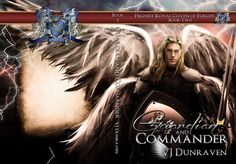 "Covers: ""Guardian and Commander"" and ""Son of the Redeemer"" by VJ Dunraven « Karri Klawiter – Photo Illustrator"