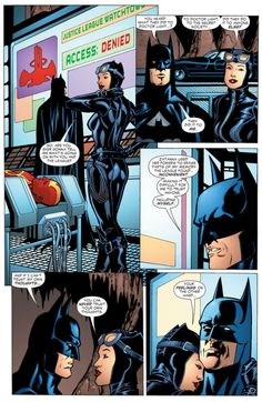 Bat and Cat Romance: Photo Catwoman Comic, Batman And Catwoman, Batman And Superman, Marvel Dc Comics, Batgirl, Spiderman, Catwoman Selina Kyle, Dragon Ball Z, Best Comic Books