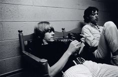 Brian Jones, mick jagger, and my two faves image