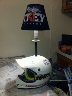 Motorcross helmet lamp finally done