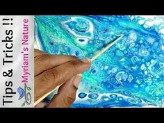 20] SAVE paint & IMPROVE your DIRTY POUR fluid acrylic painting!