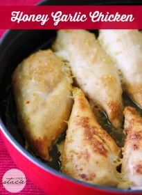 Honey Garlic Chicken - Simply Stacie