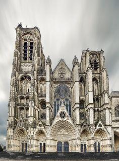 Cathédrale Saint-Etienne - Bourges - département du Cher