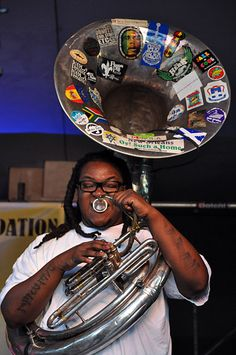 Soul Rebels Brass Band at Treme Creole Gumbo Fest