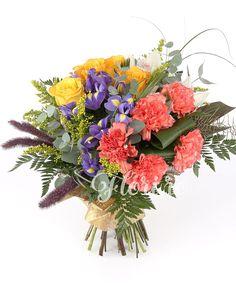 Belșug de culoare Iris, Floral Wreath, Wreaths, Home Decor, Irise, Decoration Home, Room Decor, Irises, Bouquet
