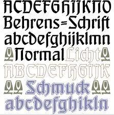 """Résultat de recherche d'images pour """"behrens schrift"""""""