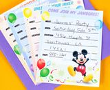 Mickey & Friends Party Invitations