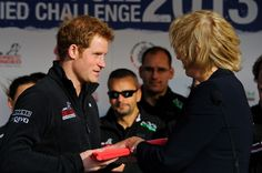 Prince Harry preparing to leave for his charity trek in the Antarctica 14 Nov 2013