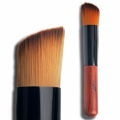 Makeup brush / Oblique head multifunction brush / Foundation brush / Blush Brush / Eye shadow brush by taoli. $17.50. style::liquid foundation brush. Use:Face. Used With:Blusher, Concealer, Foundation, Shaving Brush, powder brush. Style:Angular Blush, Flat brush, Smudge Brush. Handle Material:Wood. 1.The brushes are like butterfly kisses, give you a pleasure to use 2.100% brand new liquid foundation brush, with red artificial leather pouch, finest workmanship. 3.This brush is per...