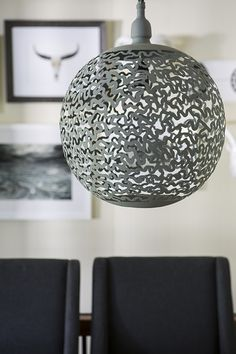 Pewter grey colour lighting! Home decor.
