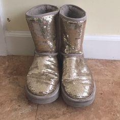 Woman Sparkle Ugg Boot