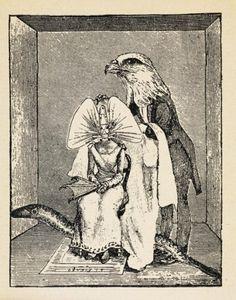 """Max Ernst, illustration pour """"Rencontre de deux sourires"""", Les Malheurs des Immortels révélés par Paul Eluard et Max Ernst, ed. Paris, Librairie Six, 1922, Bibliothèque Doucet, Paris."""