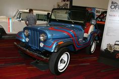 Here's a Super Jeep from #SEMA2014. Check out more rare Jeeps here: http://www.fourwheeler.com/news/1411-rare-collection-of-jeeps-from-the-2014-sema-show/