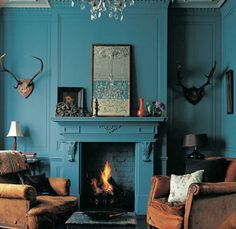Paint my fireplace all canary yellow?