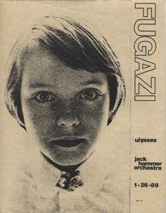 Fugazi Flyer 1989