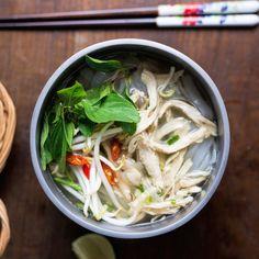 Instant-Pot Vietnamese Chicken Noodle Soup (*Pho Ga*)