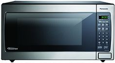 microwave oven with Inverter technology for true, variable microwave power. view larger Panasonic Inverter Microwave Oven The Genius Prestige Countertop/Built-In Microwave Oven. Built In Microwave Oven, Countertop Microwave Oven, Stainless Steel Countertops, Panasonic Microwave, Best Electric Pressure Cooker, Best Electric Shaver, Cooking Appliances, Kitchen Appliances