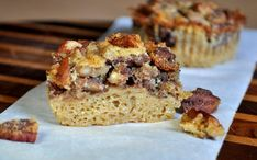 """""""Impossible"""" Pecan Pie Cupcakes --  (cake that stays moist in the middle and forms a crust on the outside)"""