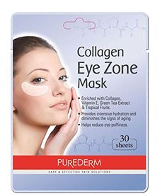 2 Pack 30 Sheets Purederm Collagen Eye Zone Pad Patches M...