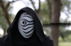 Madara vs the 4th Hokage Death Match Mask GREY Tobi Obito Naruto cosplay ANBU