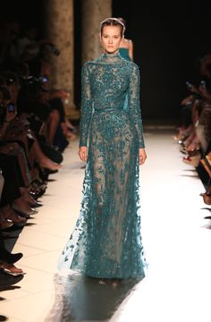 ELIE SAAB Haute Couture Fall Winter 2012-13  Everything is Elie Saab and nothing hurts