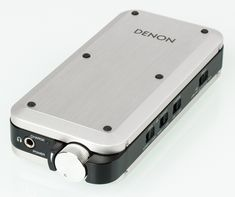 Denon DA-10 Portable Headphone Amplifier with USB DAC | http://www.hifix.co.uk