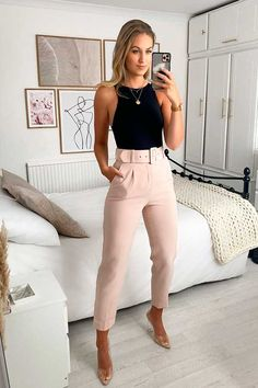 Business Casual Outfits, Professional Outfits, Cute Casual Outfits, Stylish Outfits, Summer Formal Outfits, Glamouröse Outfits, Fashion Outfits, Looks Chic, Casual Looks