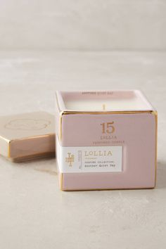 Slide View: 1: Lollia Poetic License Boxed Candle