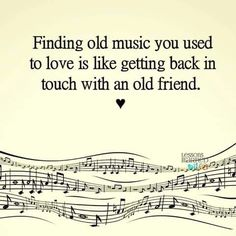 Music that you used to love....and still love!
