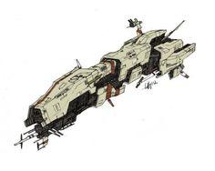 DeviantArt: More Like Infinity - Starfold Carrier concept by Tinnenmannetje