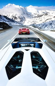 I don't know where this is, but I want to be driving one of these cars there.