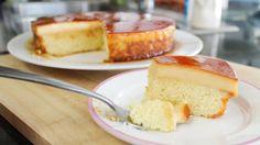 Caramel Custard Cake คัสตาร์ดเค้ก - Hot Thai Kitchen