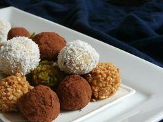 Dobrou chuť: Tiramisu kuličky nepečené Tiramisu, Grains, Rice, Candy, Sweet, Food, Cupcake, Essen, Cupcakes