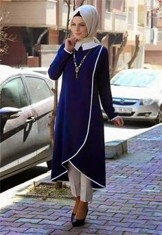 Like the front cuttingmodest but gives you walking room!Hijab Designs - Hijab Style - Arabic Hijab Fashion for girlsEverything you need to start living your best life!Sassy and elegant at the same time. Abaya Fashion, Modest Fashion, Indian Fashion, Girl Fashion, Fashion Dresses, Womens Fashion, Muslim Dress, Hijab Dress, Hijab Outfit
