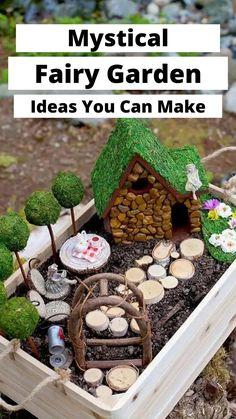 Fairy Garden Pots, Beach Fairy Garden, Fairy Garden Houses, Diy Fairy House, Garden Web, Garden Whimsy, Gnome Garden, Balcony Garden, Garden Crafts For Kids