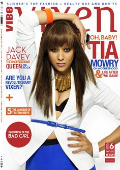 Tia Mowry approaches new horizons in the 6 digital issue of VIBE Vixen