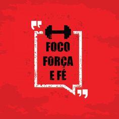 Poster - Foco, força e fé
