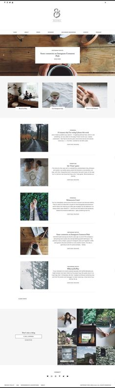 Showcase — Station Seven: Squarespace Templates, WordPress Themes, and Free Resources for Creative Entrepreneurs Website Design Inspiration, Blog Design, Layout Design, Web Layout, Design Ideas, Minimalist Wordpress Themes, Premium Wordpress Themes, Wordpress Website Design, Wordpress Theme Design
