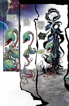 Overture issue #1 Art by J. H. Williams III