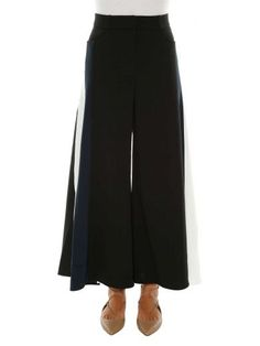 PETER PILOTTO Peter Pilotto Cady Contrast Trousers. #peterpilotto #cloth #https:
