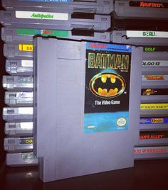 On instagram by barrelfullofgames #nes #microhobbit (o) http://ift.tt/1Joo75u! Da da da da da batman on the NES! A great and my favorite batman game of all time. A must in your NES collection! What is your favorite Batman Video Game? #igersnintendo #batman  #nintendo #dccomics #8bit #games #gaming #games #gamer #gamecollection #gamecollector #videogamecollection #retro #barrelfullofgames #retrocollective