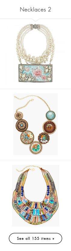 """Necklaces 2"" by lence-59 ❤ liked on Polyvore featuring jewelry, necklaces, beach necklaces, beachy jewelry, beach jewelry, beads jewellery, beading jewelry, multi, wooden necklaces and wood bead jewelry"