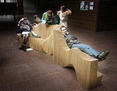 Student-Built, Digitally-Designed Multifunctional Bench