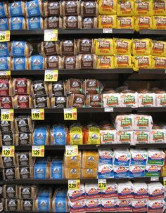 interesting post about store-bought bread, whole grains and which bread is the best to buy
