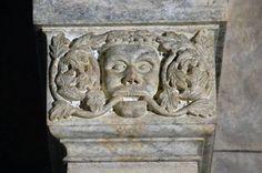 Testa di mostro - Ugo da Campione (attribuito) - post 1319-1330