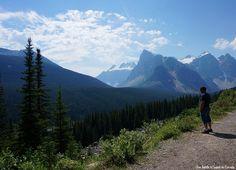 Lac Moraine à Banff - Une famille à l'ouest du canada, notre nouvelle vie à Calgary