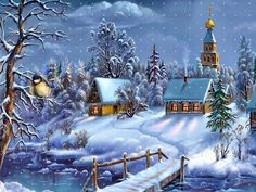 Image detail for -Winter Christmas Trees