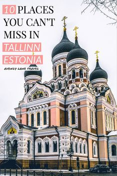 Best things to do in Tallinn Estonia! If you are planning on traveling to Europe you need to check out Tallinn. It is one of the most beautiful cities in Europe - a real life fairy tale! Check out the top 10 things to do in Tallinn on avenlylanetravel.com | #tallinn #tallinnestonia #estonia #europe #europetravel #travelinspiration #beautifulplaces #bucketlist #travelbucketlist #europebucketlist #avenlylane #avenlylanetravel Voyage Europe, Europe Travel Guide, European Destination, European Travel, Baltic Sea Cruise, Estonia Travel, Poland Travel, Italy Travel, Real Life Fairies