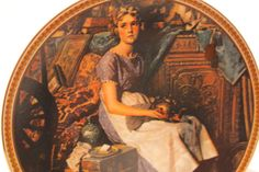 Norman Rockwell Plate Dreaming in the Attic' by VintagebyViola, $19.00