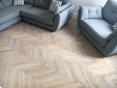 Solid Oak Parquet Flooring supplied and installed by Tomson Floors.
